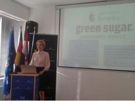 Green Sugar la Simpozionul International al Industriilor Creative, Inovatiei Culinare si Artelor Spectacolului, Belin, 2015