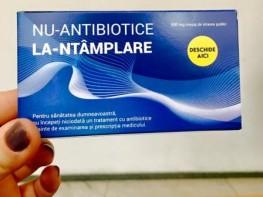 """Susținem campania """"Nu antibiotice la întâmplare"""""""