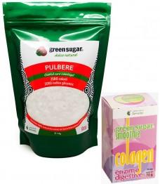 green-sugar-pulbere-1kg + ENZIME DIGESTIVE