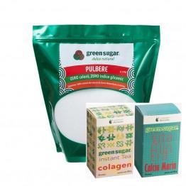 green-sugar-pulbere-2kg+CEAI VERDE+VITAMINERA CALCIU MARIN
