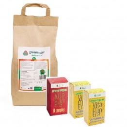 green-sugar-pulbere-5kg +B COMPLEX+2 ACEROLA