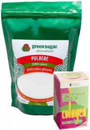 green-sugar-pulbere-500gr + ACEROLA
