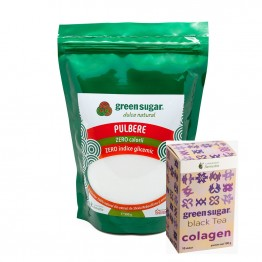 green-sugar-pulbere-500gr+CEAI NEGRU